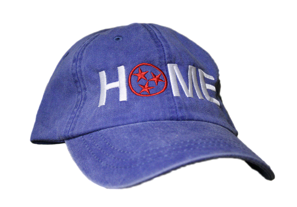 TENNESSEE ROYAL HAT | HOME | WHITE/RED