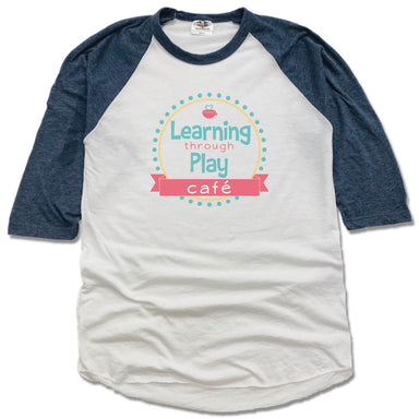 LEARNING THROUGH PLAY | NVY 3/4 SLEEVE | LOGO