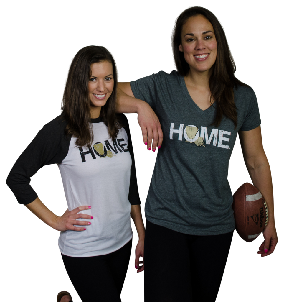LOUISIANA 3/4 SLEEVE | HOME | GOLD