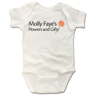 MOLLY FAYE'S | WHITE ONESIE | DESIGN