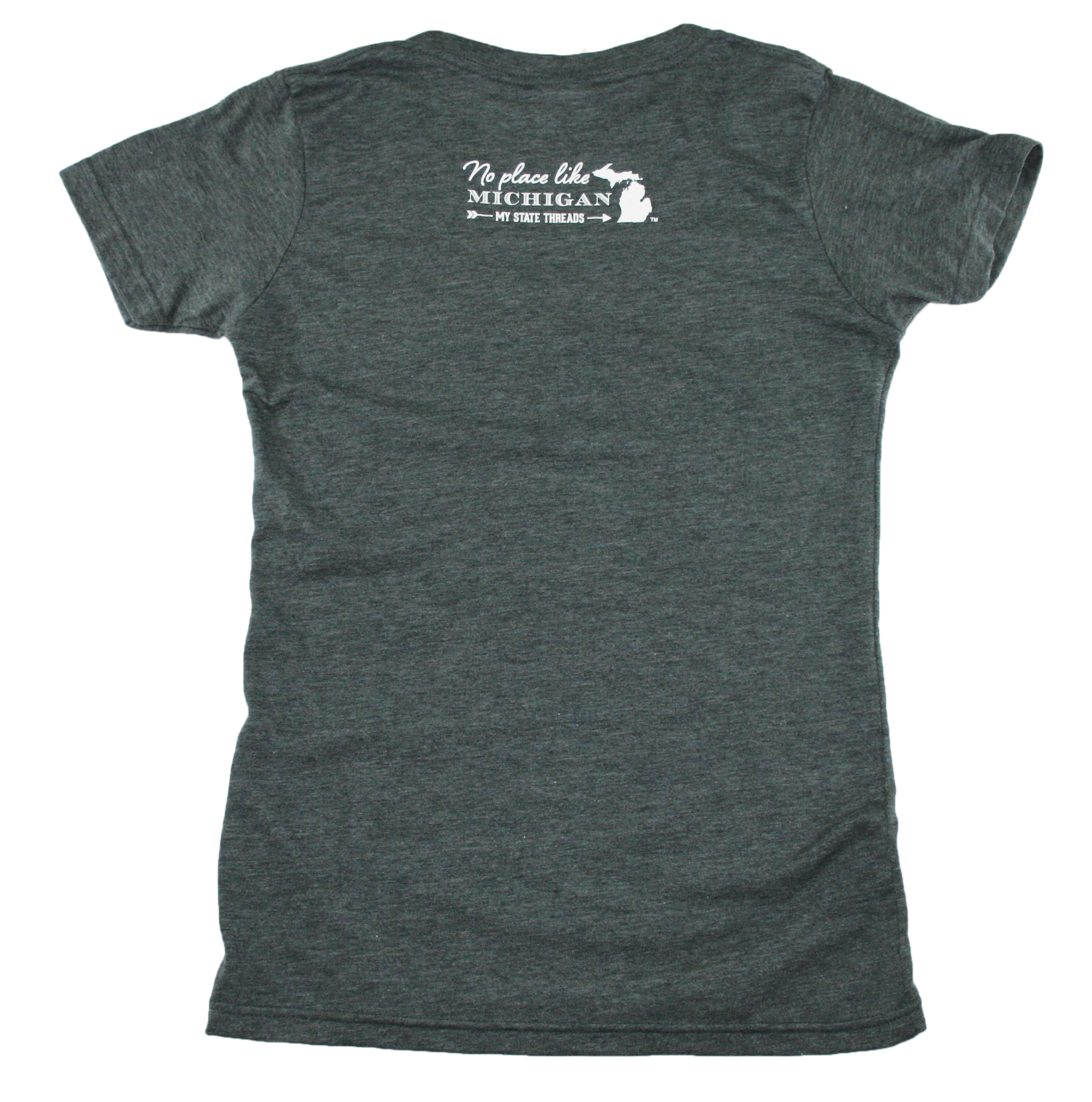 MICHIGAN LADIES V-NECK | FOREVER SUMMER | NORTHERN PATTERN