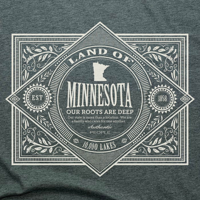 MINNESOTA | LADIES FLOWY TANK | VINTAGE WHITE