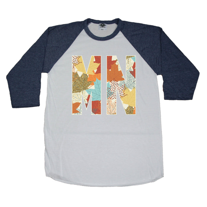 Minnesota Fall Foliage - 3/4 Sleeve