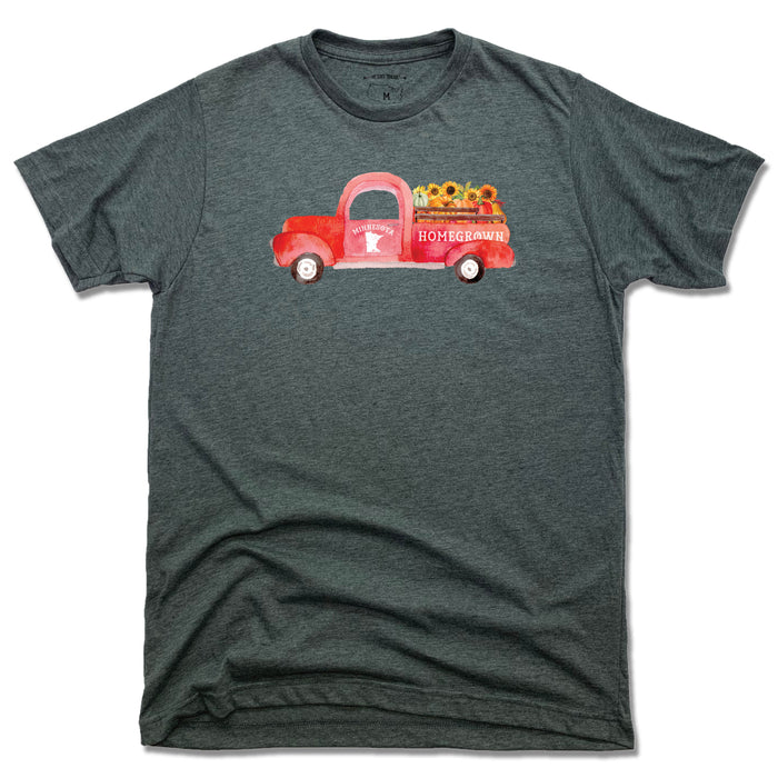 Minnesota Fall Homegrown Truck - Unisex Tee