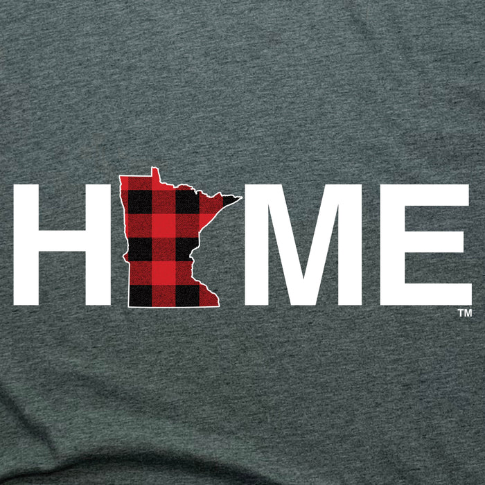 MINNESOTA LADIES LONG SLEEVE V-NECK TEE | HOME | PLAID