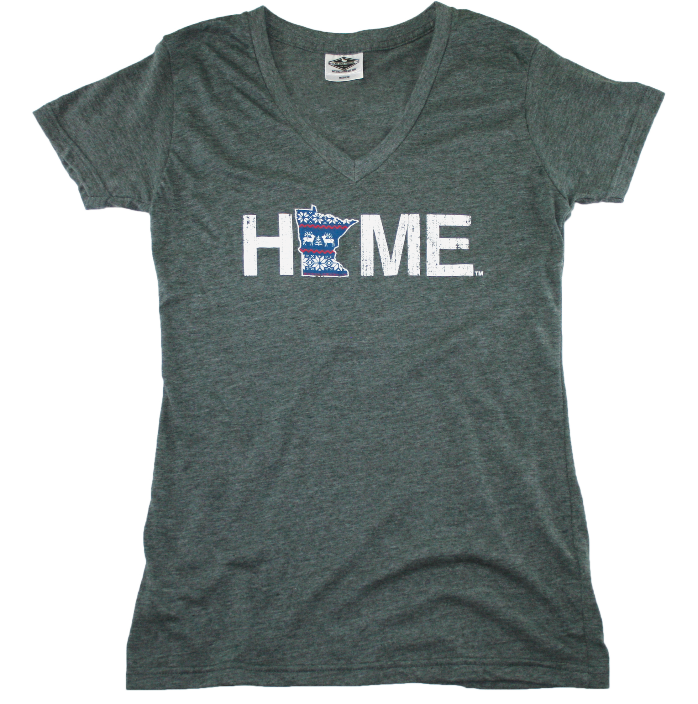MINNESOTA LADIES V-NECK | HOME | NORDIC
