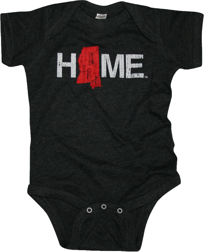 MISSISSIPPI ONESIE | HOME | RED