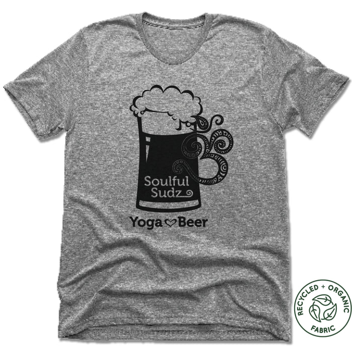 Muskegon Yoga | UNISEX GRAY Recycled Tri-Blend | Sudz