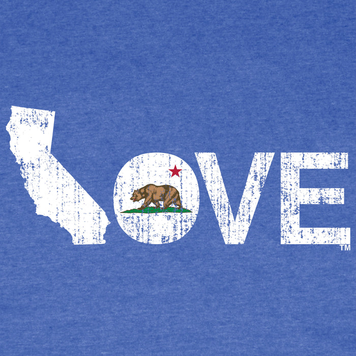 CALIFORNIA TEE BLUE - LOVE | FLAG