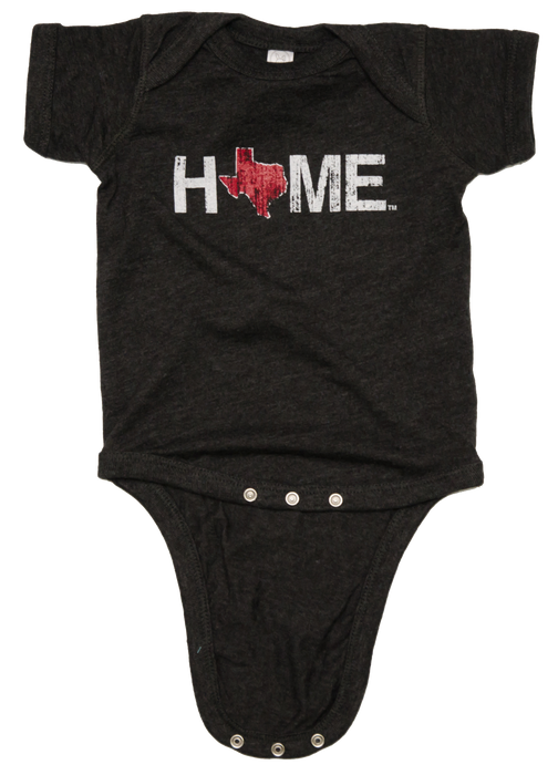 Texas Onesie | HOME | Maroon/White - My State Threads