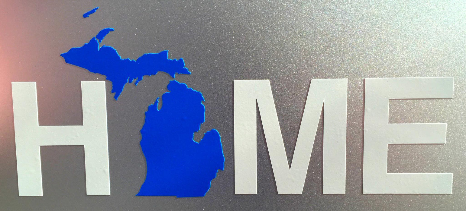 MICHIGAN STICKER | HOME | BLUE