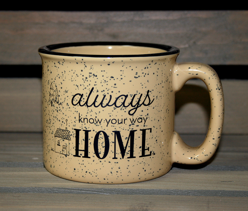 ALL STATES COFFEE MUG | DREAM, EXPLORE, WANDER | TAN