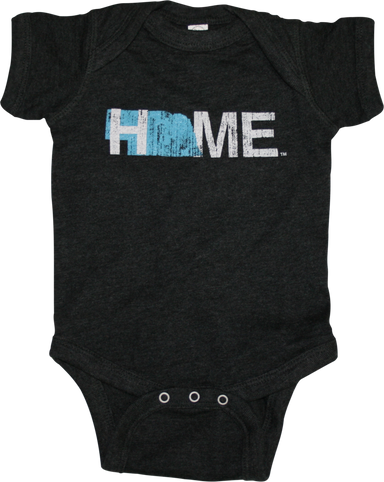 NEBRASKA ONESIE | HOME | BLUE