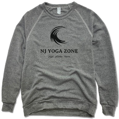 NJ YOGA ZONE | FLEECE SWEATSHIRT | BLACK LOGO