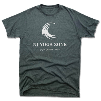 NJ YOGA ZONE | UNISEX TEE | WHITE LOGO