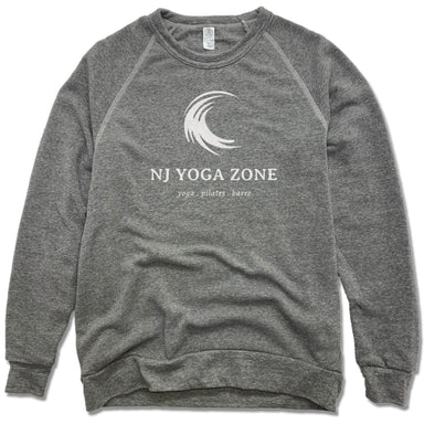 NJ YOGA ZONE | FLEECE SWEATSHIRT | WHITE LOGO