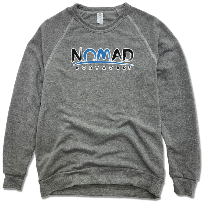 NOMAD BODYWORKS | FLEECE SWEATSHIRT | LOGO