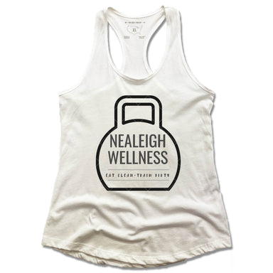 NEALEIGH WELLNESS | LADIES WHITE TANK | LOGO