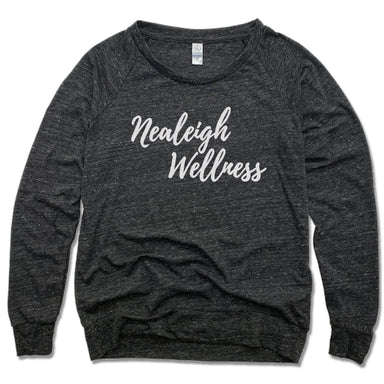 NEALEIGH WELLNESS | LADIES SLOUCHY | WHITE LOGO