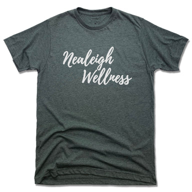 NEALEIGH WELLNESS | UNISEX TEE | WHITE LOGO