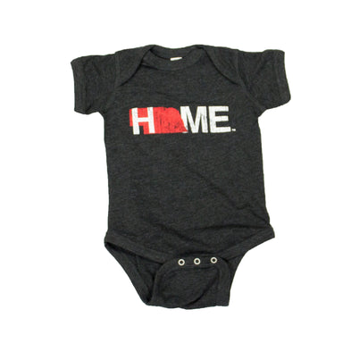 NEBRASKA ONESIE | HOME | RED