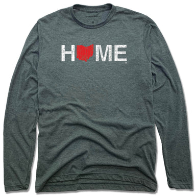 OHIO LONG SLEEVE TEE | HOME | RED