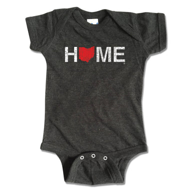 OHIO ONESIE | HOME | RED