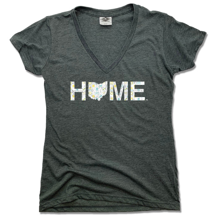OHIO LADIES V-NECK | HOME | NORTHERN PATTERN
