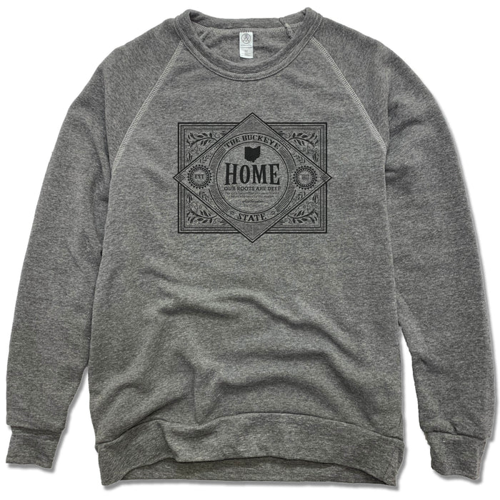 OHIO | FLEECE SWEATSHIRT | VINTAGE BLACK