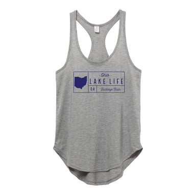 Ohio Lake Grid - Ladies' Tank