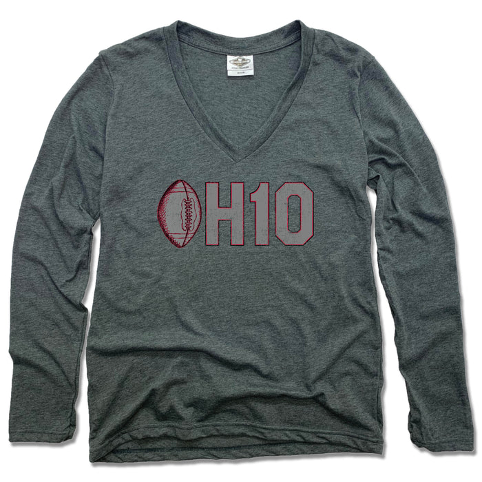 OH1O Football - Ladies' Longsleeve