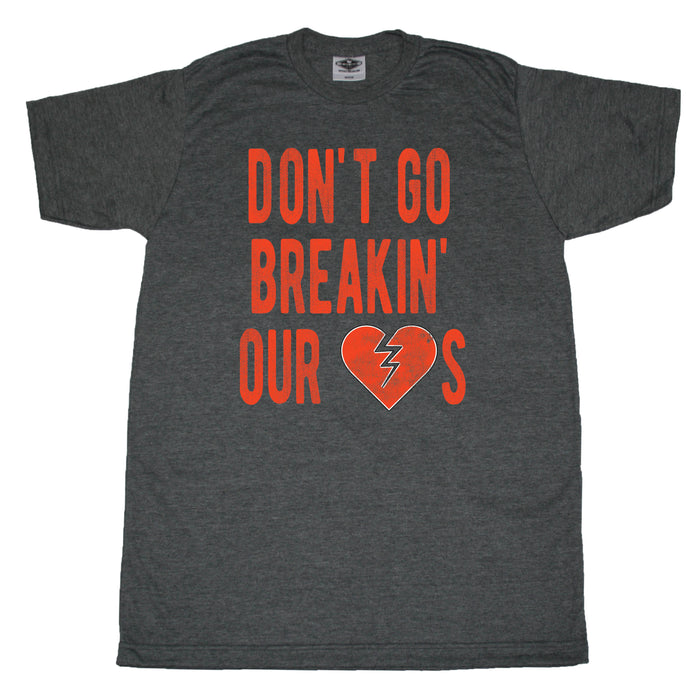 Don't Go Breaking Our Hearts - Cleveland - Unisex Tee