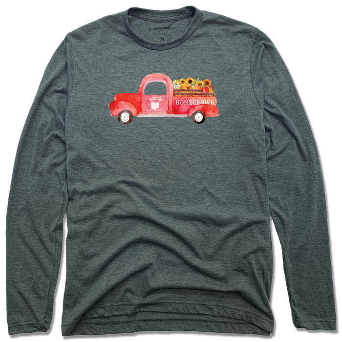 Ohio Fall Homegrown Truck - Unisex Longsleeve