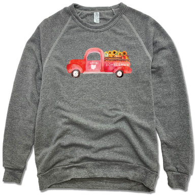 Ohio Fall Homegrown Truck - Fleece Sweatshirt