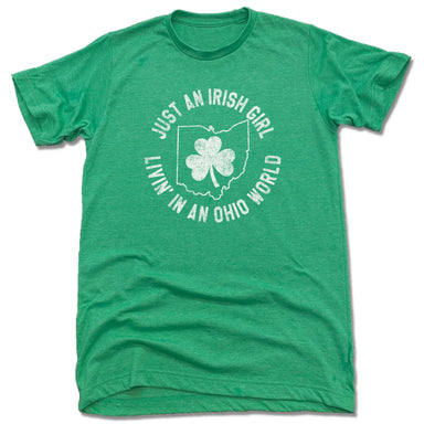 OHIO | UNISEX TEE | JUST AN IRISH GIRL