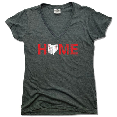 OHIO LADIES V-NECK | HOME | CINCINNATI STITCHES