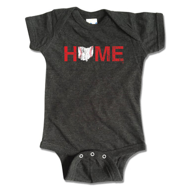 Ohio Onesie | Cincinnati Baseball | Red/White