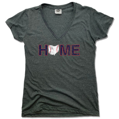 OHIO LADIES V-NECK | HOME | CLEVELAND STITCHES