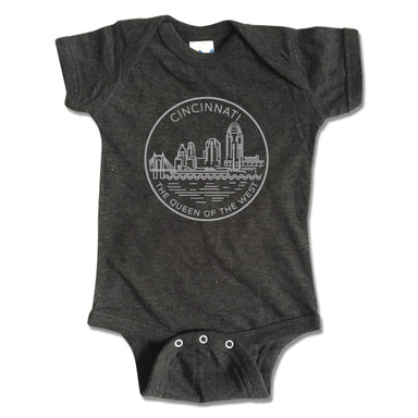 OHIO ONESIE | CITY SEAL | CINCINNATI