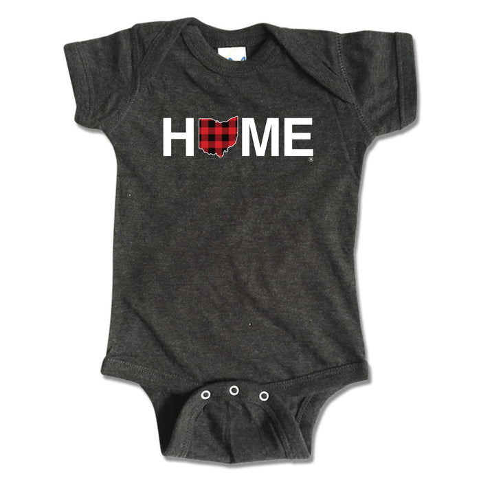 OHIO ONESIE | HOME | PLAID