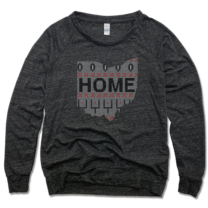 OHIO LADIES' SLOUCHY | HOME | SWEATER GRAY/BLACK