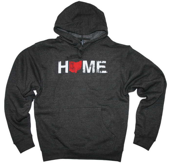 OHIO HOODIE | HOME | RED