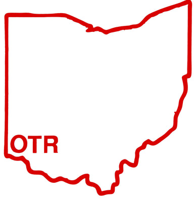 OHIO STICKER | HOMETOWN | OTR
