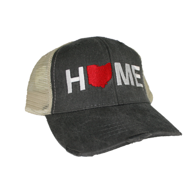 OHIO HAT | HOME | RED
