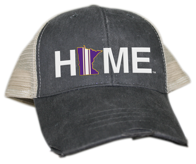MINNESOTA HAT | HOME | PURPLE/GOLD