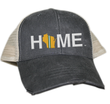 WISCONSIN HAT | HOME | Green/Yellow