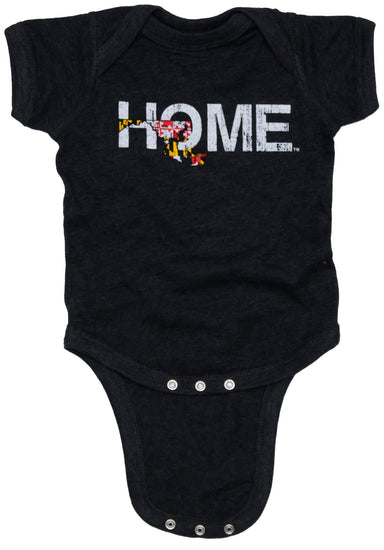 Maryland Onesie | HOME | Flag - My State Threads