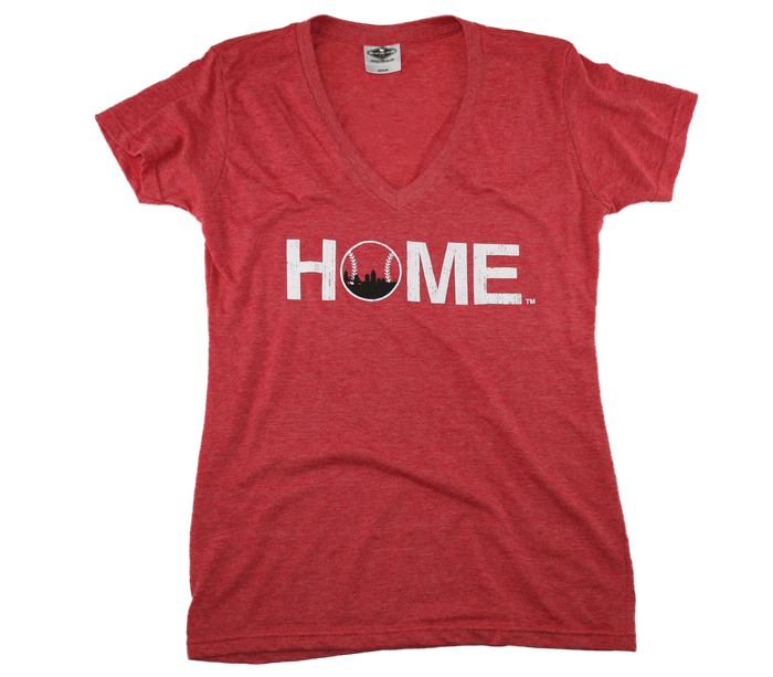 CINCYGIVE LADIES V-NECK | HOME | OPENING DAY