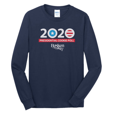 BUSKEN BAKERY | 2020 PRESIDENTIAL COOKIE POLL LONG SLEEVE TEE