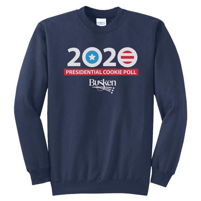 BUSKEN BAKERY | 2020 PRESIDENTIAL COOKIE POLL SWEATSHIRT